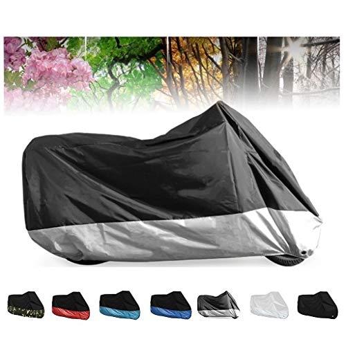 Fundas para motos Compatible con la cubierta de moto Aprilia SR Motard 50, All Season impermeable protector solar al aire libre Antifouling 190T interior de la cubierta de la motocicleta, 7colors