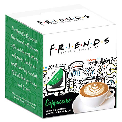 F.R.I.E.N.D.S Dolce Gusto Compatible Coffee Pods (Cappuccino 10 Pack)