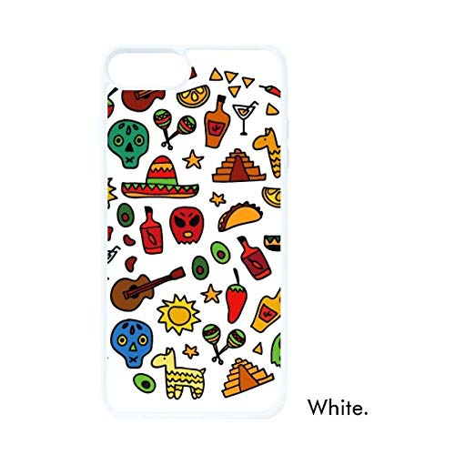 DIYthinker Schedel Gitaar Peper Voetbal Illustratie Wit Phonecase Apple Cover Case Gift