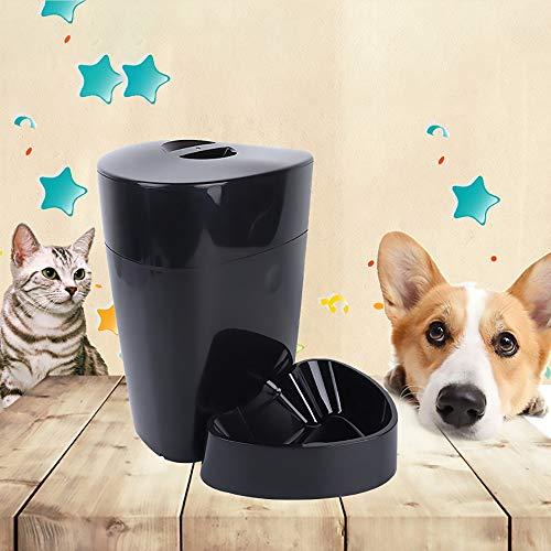ETH Alimentador Automático del Gato Y del Perro Cronómetro Automático para Mascotas Alimentador Cuantitativo Dispositivo De Alimentación del Animal Doméstico Alimentador Inteligente Durable