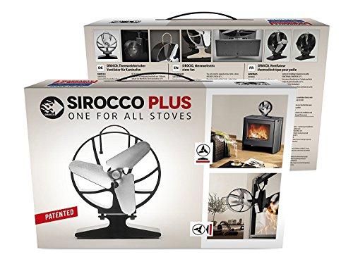 HANSA SIROCCO PLUS ventilateur thermoélectrique pour le poêle et pour la cheminée avec l'insert