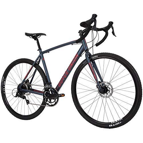 "Royce Union Men's' Gravel Bike 27.5"" or 700c Wheels, Lightweight Aluminum w/Shimano"