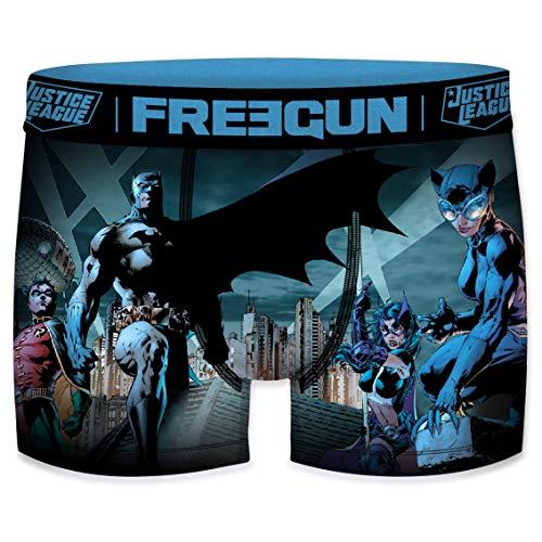 FREEGUN Boxer Homme DC Comics Justice League Batman (S, Batman 2020)
