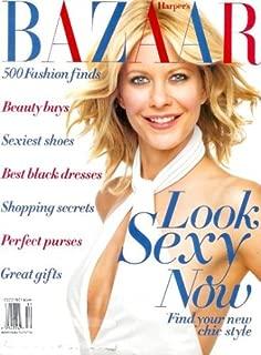 Harper's Bazaar - December 2001: Meg Ryan, International Supermodels, Carrie Fisher & More
