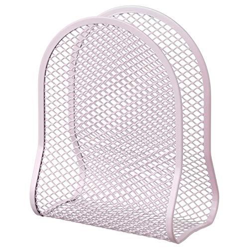 Serviettenhalter rosa Produktgröße Länge: 11 cm Breite: 6,5 cm Höhe: 15 cm Material: Stahl Epoxid/Polyester Pulverbeschichtung