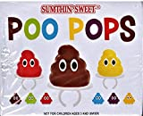 Sumthin' Sweet Poo Pops Candy Ring, 0.53 Ounces - 24 Count