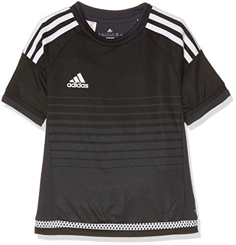 adidas Campeon 15 JSY, Maglietta Man (Fitness &), Nero (Nero/Grinoc/Bianco), 140