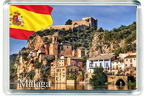 H265 Málaga Imán para Nevera Spain Travel Fridge Magnet
