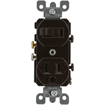 [ANLQ_8698]  Leviton 5335, Brown - Wall Light Switches - Amazon.com   Leviton T5225 Wiring Diagram Switch      Amazon.com