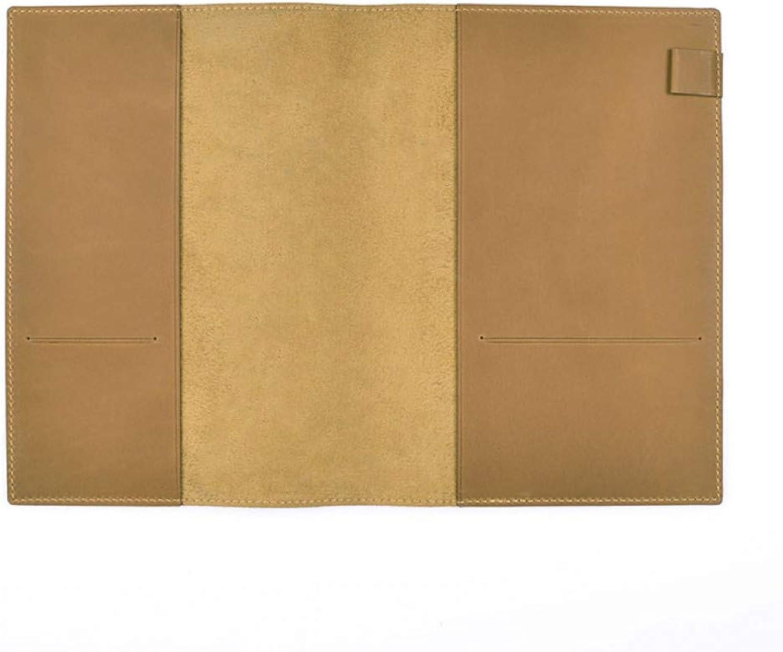 al precio mas bajo ZXSH Cuaderno Cubierta Del Diario Del Cuaderno Del Cuero Genuino Genuino Genuino De La Vendimia Para El Planificador Projoeja La Cubierta Accesorios Del Planificador Efectos De Escritorio, Camello  promociones