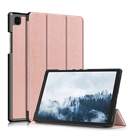 topCASE Funda para Samsung Galaxy Tab A7 10,4 pulgadas 2020 SM-T500/SM-T505/SM-T507 Ultra-fina con función soporte, oro rosa