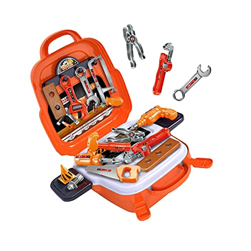 Kids Tool Set 22 Pcs Tool Kit with Storage Case Bag Play Electric Drill and Carry Case Tool Box For 3 4 5 6 7 Years Old Toddlers Boys Children kids tool box