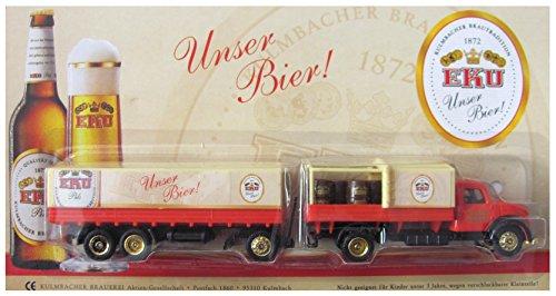 EKU Brauerei Nr.34 - Unser Bier - Magirus Deutz Sirius - Hängerzug Oldie