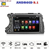 Android 7.1 Autoradio 4G LTE GPS DVD USB SD WI-FI Bluetooth, 2 DIN Navigationssystem, SsangYong Kyron / SsangYong Actyon