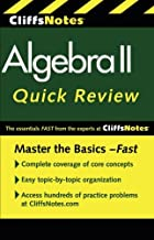 CliffsNotes Algebra II Quick Review, 2nd Edition (Cliffs Quick Review)