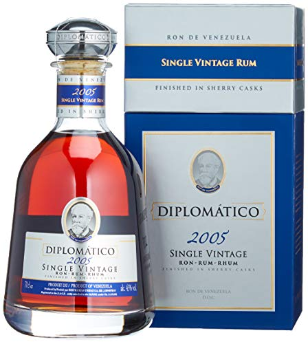 Diplomatico Diplomático Single Vintage Rum Limited Edition 2005 43% Vol. 0,7L In Giftbox - 700 ml