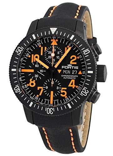 Fortis B-42 BLACK MARS 500 Limited Edition Herren-Chronograph 638.28.13 L13