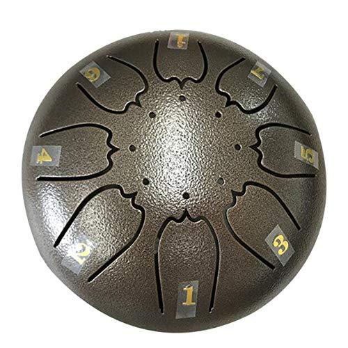 XLY Tambor Mini-Lengua, Caso Llave De Acero De Color Tambor
