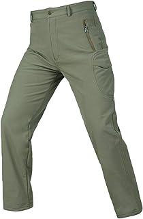 EUSMTD Uomo Estate Outdoor Escursionismo Camping Casual Removibile Colore Solido Asciugatura Rapida Elasticizzati Sportivo Pantaloni