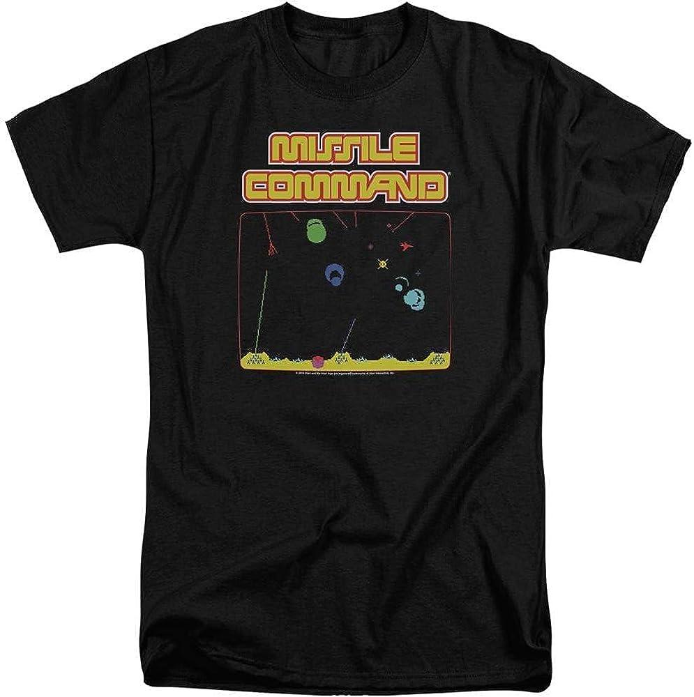 Atari Missle Screen Adult Tall Fit T-Shirt