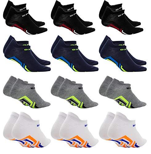 Calcetines para hombre y mujer, calcetines cortos antiampollas para deporte, fantasmas invisibles, calcetines sneakers de tobillo de suave algodón, transpirables