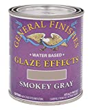 General Finishes Water Based Glaze Effects, 1 Pint, Smokey Gray...