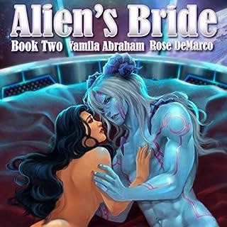 Alien's Bride Book Two audiobook cover art