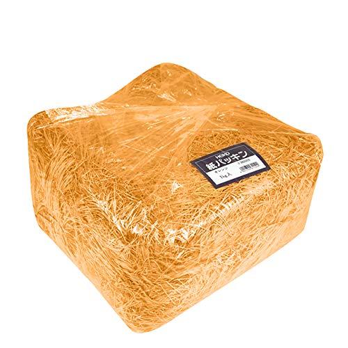 ヘイコー 緩衝材 紙パッキン 1kg オレンジ 003800909