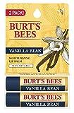 Burt's Bees 100% Natural Moisturizing Lip Balm, Vanilla Bean, 2 Count