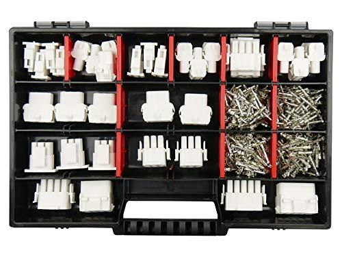 Sortiment Set Universal-Mate-N-Lok Stecker TYCO TE AMP in 2-polig bis 15-polig
