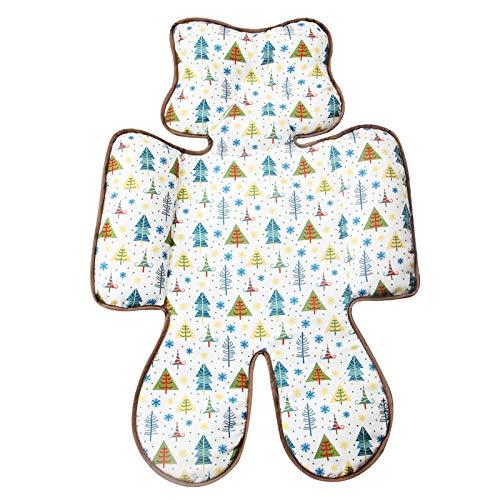 Eyand Bébé confortable Coussin Tête Corps poussette - Soft Poussette bébé siège Liner tête et support Body Pillow Créer soutien pour Tiny Baby In Car Seat, landau, poussette (Arbre)