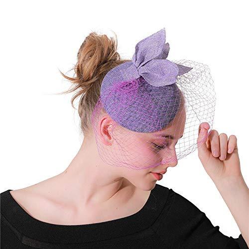Plume Band cheveux Femmes Fille Fascinators Cheveux En Épingle À Cheveux Chapeau Cocktail De Mariage Thé Chapeau Costume De Fête De Mariage Bandeaux d