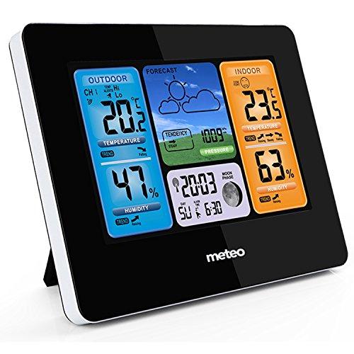 Meteo SP73 Wetterstation mit Wettervorhersage und Außensensor Wi-Fi