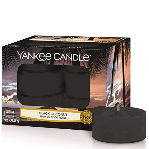 Yankee Candle Duft-Teelichter | Black Coconut | 12 Stück