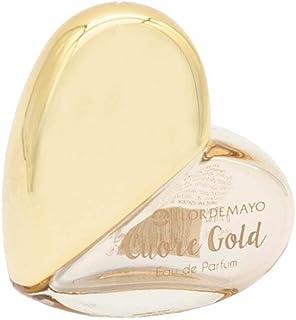 Expositor 23ud. Mini Colonia Cuore Gold para mujer. Con Téster de regalo. 24 x 20ml