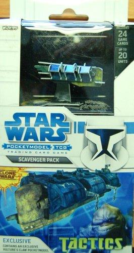Star Wars Pocketmodel Scavenger Pack The Clone Wars Tactics Wizkids 03765