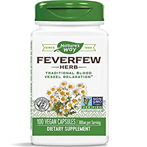 SUPPORTS BLOOD VESSEL TONE: Feverfew (Tanacetum parthenium) has been traditionally used to support healthy blood vessel tone.* SUPERIOR QUALITY STANDARDS: Our Feverfew is carefully tested and produced to superior quality standards. AUTHENTIC TRU-ID C...