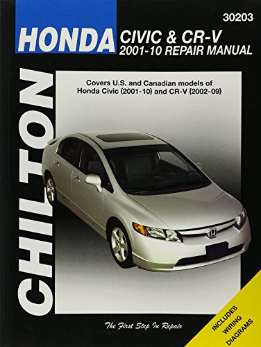 Honda Civic & CR-V 2001-10 Repair Manual