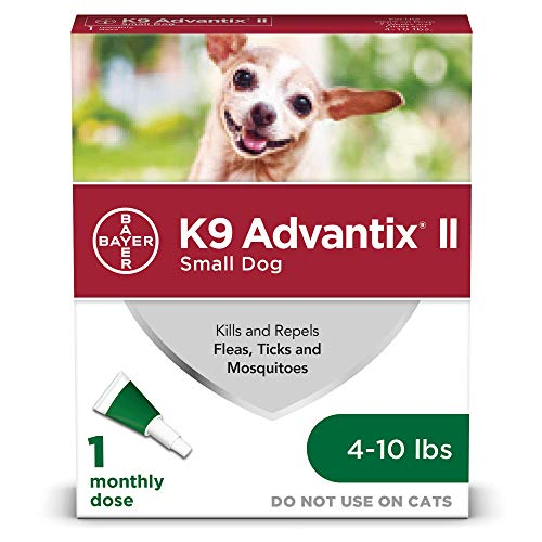 K9 Advantix II Flea and Tick Prevention for Small Dogs 410 Pounds