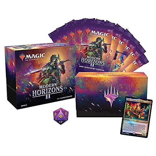 Magic the Gathering Modern Horizons 2 Bundle, 10 raft-Booster & Accesorios (versión Alemana) (Wizards of The Coast C97561000)