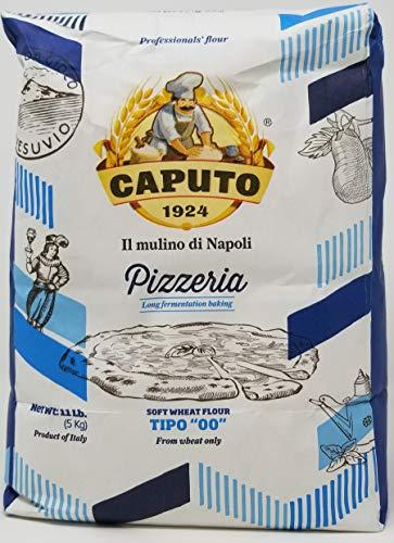 Antimo Caputo Pizzeria Chef 00 Soft Wheat Flour 2 Pack (Blue) (11LB Bag) 22 Total Pounds, (10 Kilo)