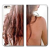 Galaxy A21 UQ mobile SCV49 ケース スマホケース 手帳型 ベルトなし セクシー SEXY 美女 女性 美人 手帳ケース カバー バンドなし マグネット式 バンドレス EB274020115002