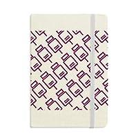 充電パワーパターン クラシックのファブリックハードカバーのノート・ジャーナル・日記