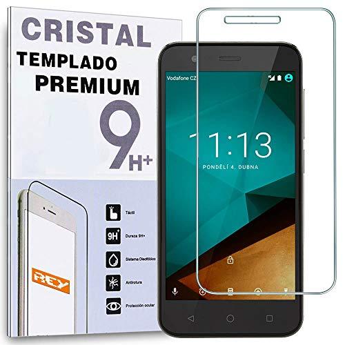 REY Protector de Pantalla para VODAFONE Smart Prime 7 Cristal Vidrio Templado Premium