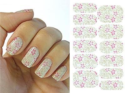 Kompletter Wrap Nail Art