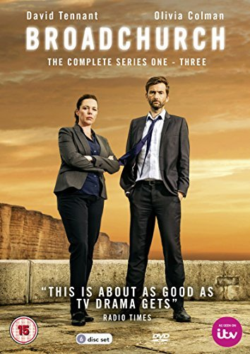 Broadchurch - Series 1-3 (6 DVDs)