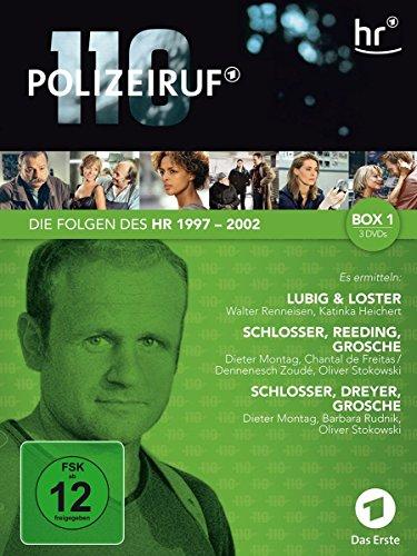 Polizeiruf 110 - hr-Box 1 (3 DVDs)