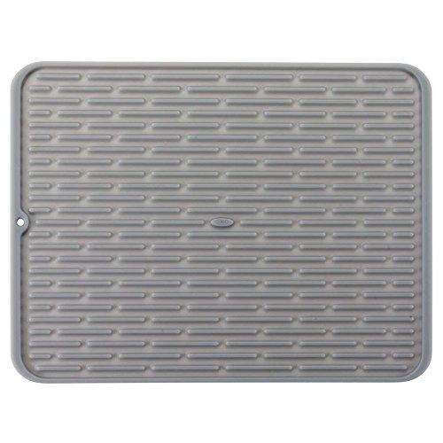 OXO Good Grips Estera de Secado - Escurridor Silicona gde./Salvamanteles - 43 x 32 cm