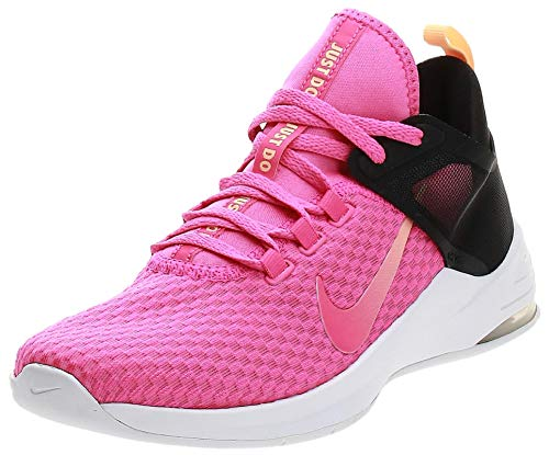 Nike Damen WMNS Air Max Bella Tr 2 Fitnessschuhe, Mehrfarbig (Laser Fuchsia/Black/Melon Tint 000), 37 EU