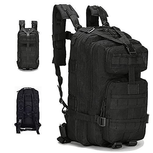 Satohom Mochila táctica militar de Hiking Trekking deportiva Unisex 25L Molle Multifunción